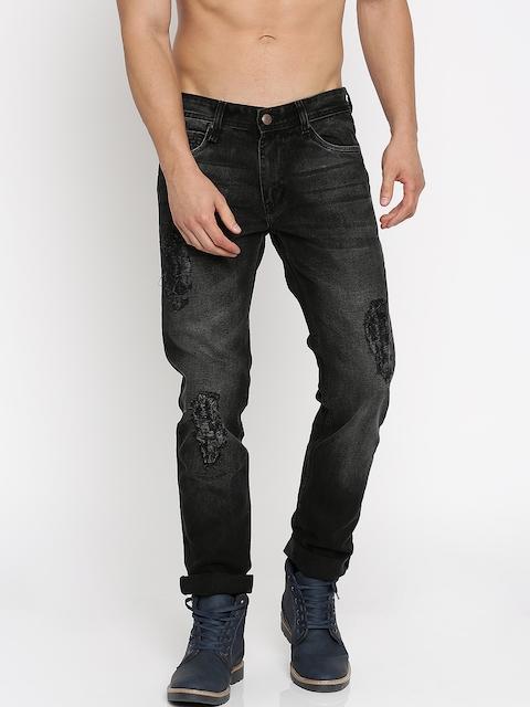 Roadster Black Slim Tapered Fit Jeans
