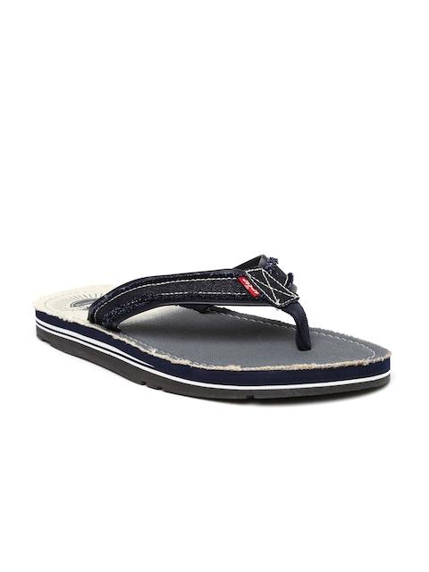 Levis Men Navy Flip-Flops