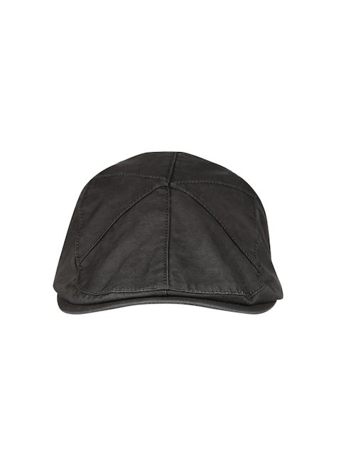Roadster Men Charcoal Grey Ascot Cap