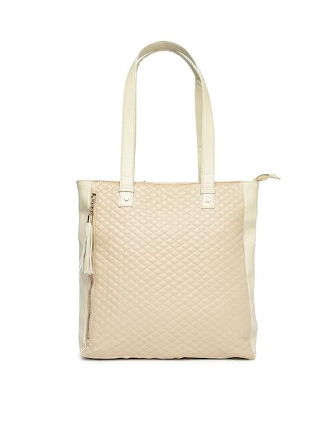 DressBerry Beige Shoulder Bag