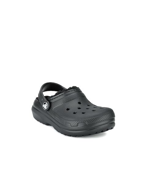Crocs Boys Black Clogs