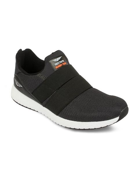 Red Tape Men Athleisure Sports Black Walking Shoes