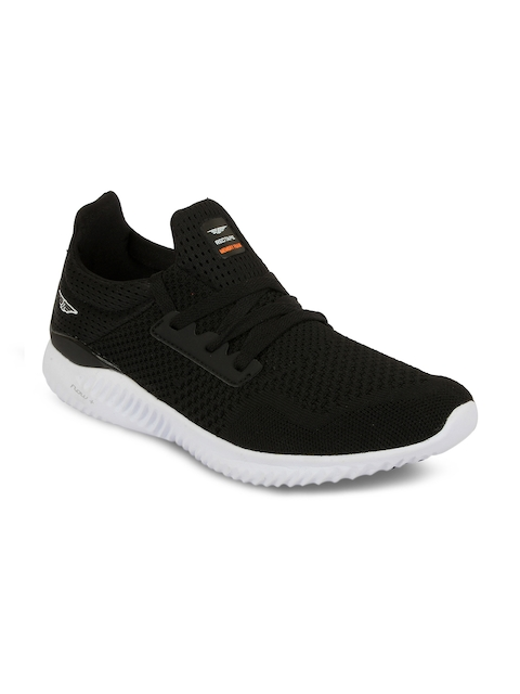 Red Tape Men Athleisure Sports Black Walking Shoes