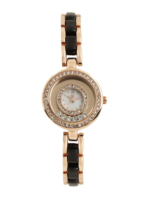 Anouk Women Rose Gold-Toned Analogue Watch MFB-PN-WTH-S9526