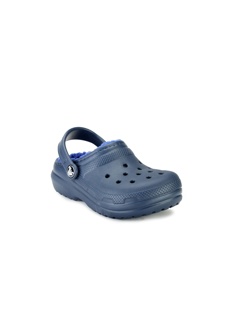 Crocs Girls Navy Clogs