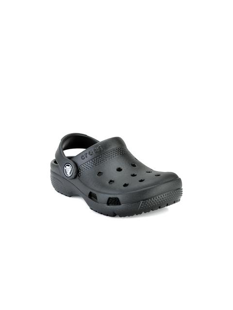 Crocs Girls Black Clogs