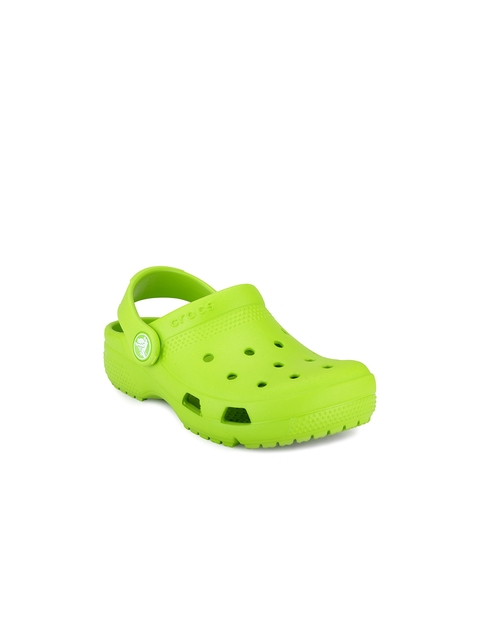 Crocs Girls Green Clogs