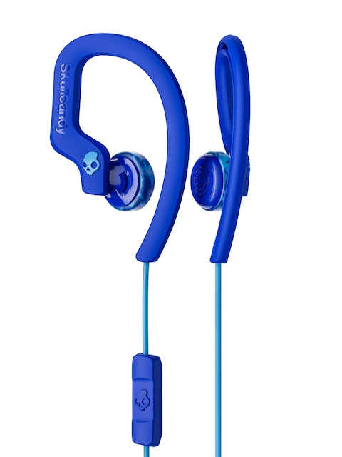 Skullcandy Blue Chops Flex Sport In-Ear Earphones with Mic S4CHY-K608