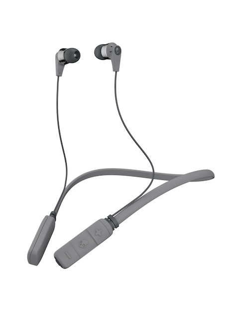 Skullcandy Grey Inkd Wireless Earbuds with Bluetooth & Mic