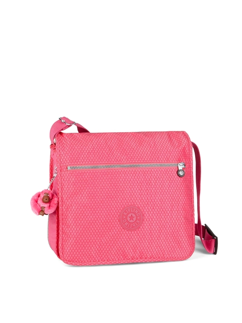 Kipling Girls Pink Patterned Sling Bag