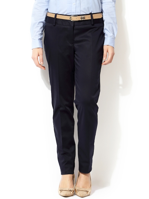 Van Heusen Woman Navy Formal Trousers