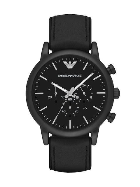 Emporio Armani Men Black Chronograph Watch AR1970I