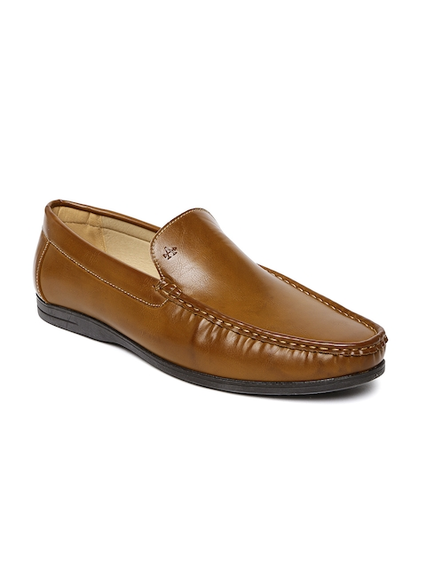 Arrow Men Tan Brown Semiformal Slip-Ons