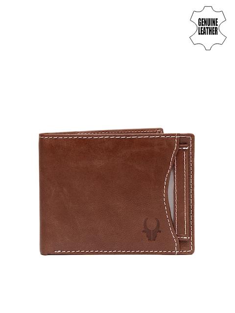 WildHorn Men Brown Genuine Leather Wallet