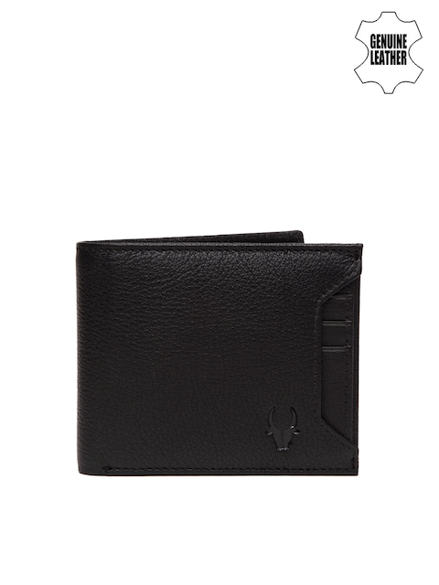WildHorn Men Black Genuine Leather Wallet
