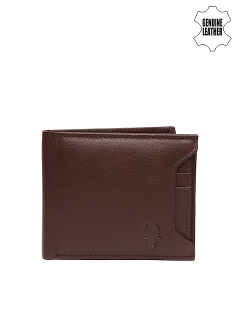 WildHorn Men Brown Genuine Leather Wallet