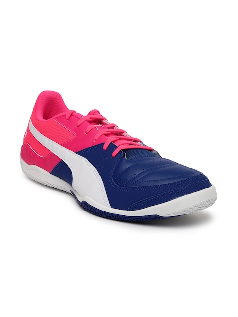 Puma Men Navy Blue Gavetto Sala Tennis Shoes