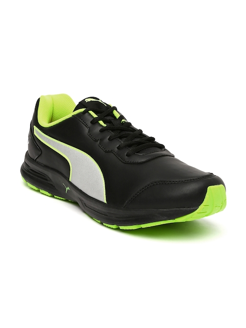 Puma Men Black Heritage SL IDP Running Shoes