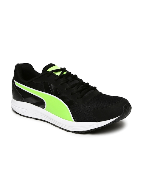 Puma Men Black Running Valor IDP Shoes