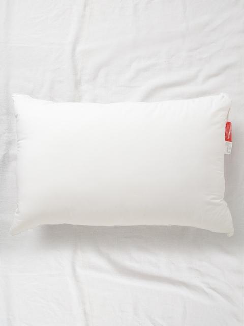 SPACES White Single Siliconised Fibre Pillow