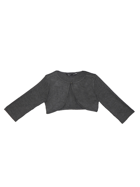 IDK Girls Charcoal Grey Shrug