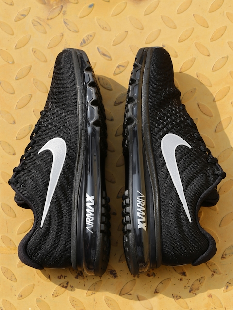 Nike Men Black Air Max Running Shoes