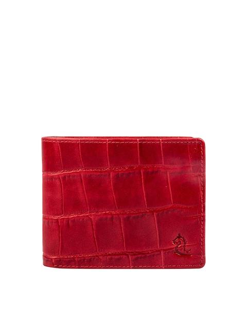 Kara Men Red Genuine Leather Wallet