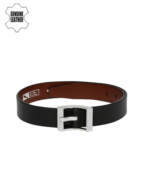 Puma Men Black Style Genuine Leather Belt