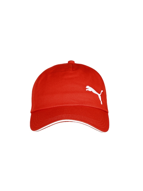 Puma Unisex Red Snapback Cap  available at myntra for Rs.439