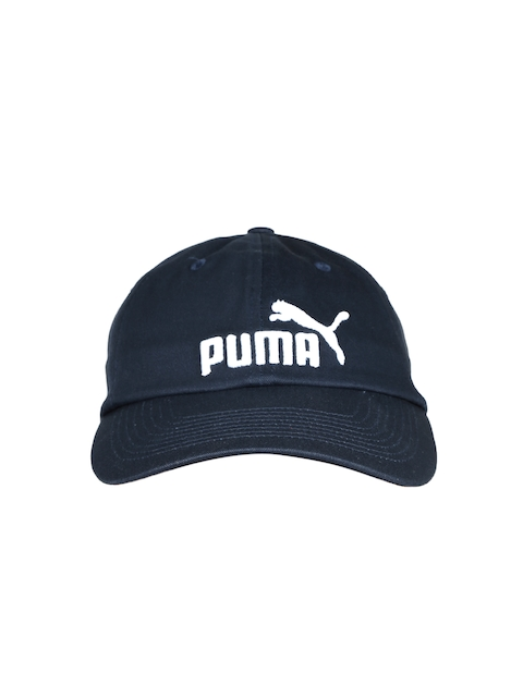 Puma Unisex Navy ESS Cap  available at myntra for Rs.349