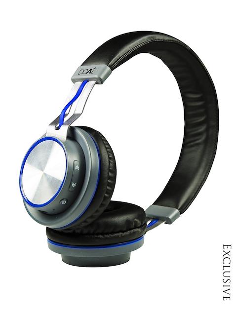 boAt Black & Blue Rockerz 390 Bluetooth Wireless Headphone