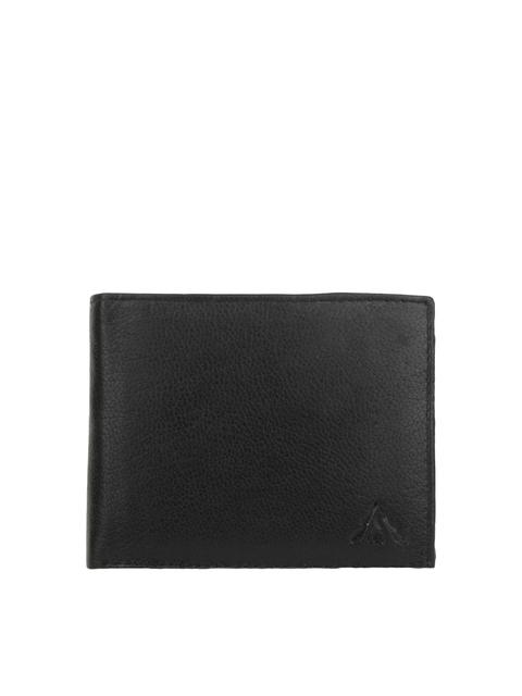 Alvaro Castagnino Men Black Leather Wallet