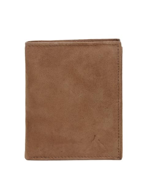 Alvaro Castagnino Men Brown Leather Wallet