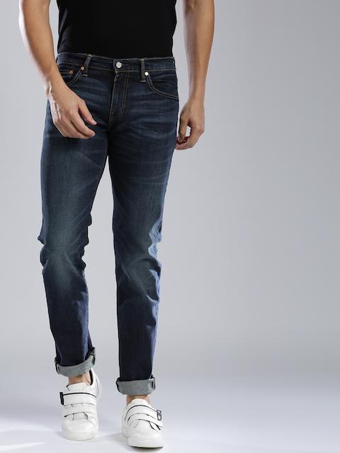 Levis Blue 511 Slim Fit Low-Rise Stretchable Jeans