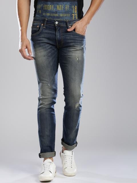 Levis Men Blue Skinny Fit Jeans