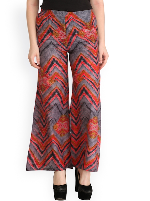 Cottinfab Multicoloured Printed Palazzos