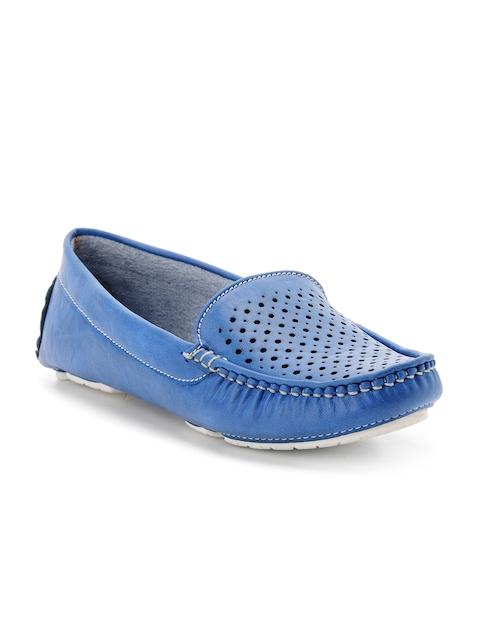 Bruno Manetti Women Blue Loafers