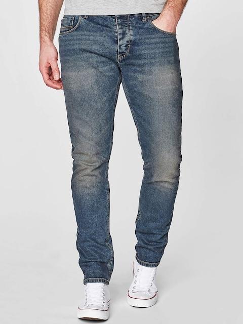 next Men Blue Skinny Fit Low-Rise Stretchable Jeans