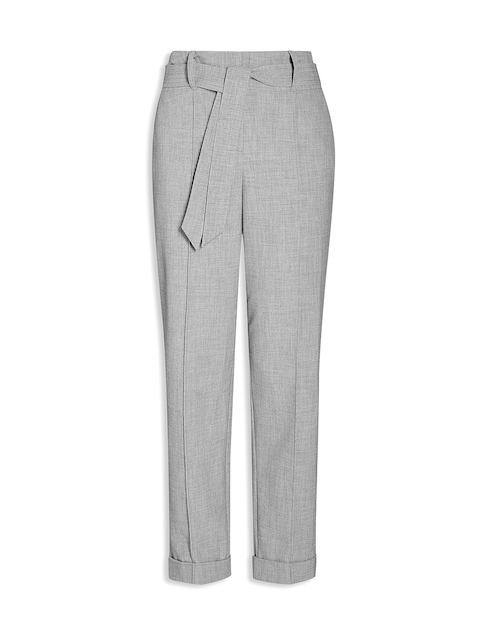 Next High Waist Tapered Fit Trousers