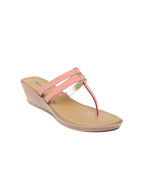 Inc 5 Women Coral Pink Wedges