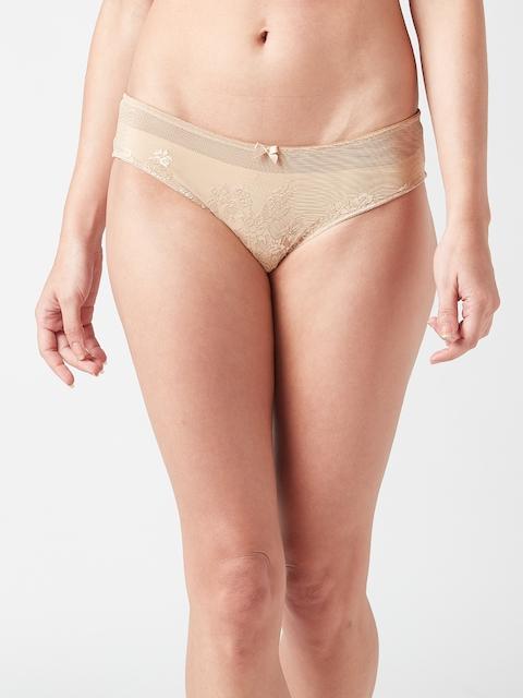 Amante Women Nude-Coloured Bikini Briefs PAN27301