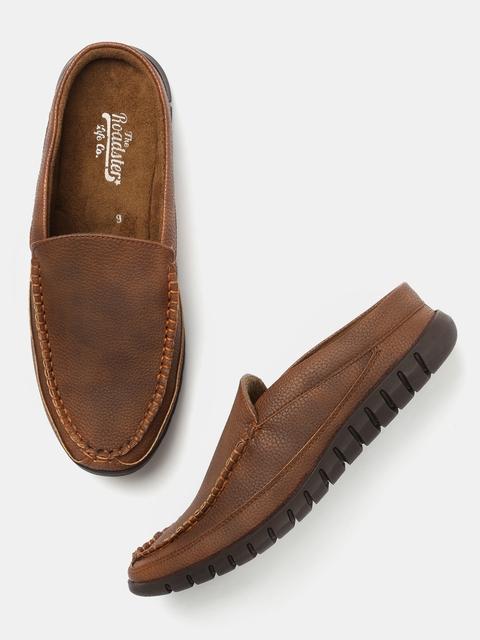 Roadster Men Brown Loafers