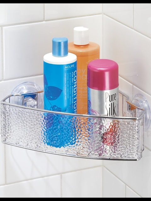 howards storage world Stainless Steel Shower Caddy