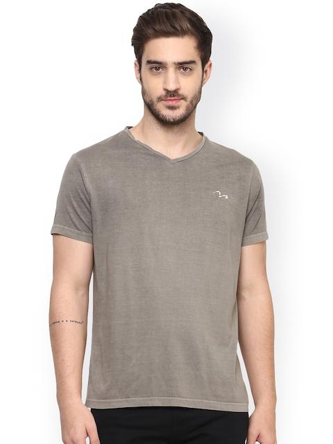 SPYKAR Grey Melange T-shirt