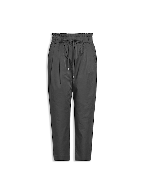 next Women Grey Peg Trousers