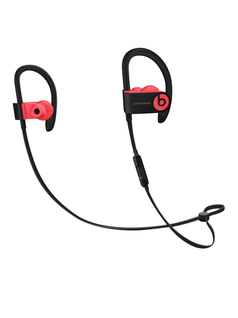 Beats by Dre Black & Red Powerbeats3 Wireless In-Ear Headphones with Mic MNLY2ZMA