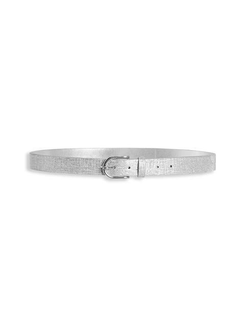 next Women Silver-Toned Shimmery Belt