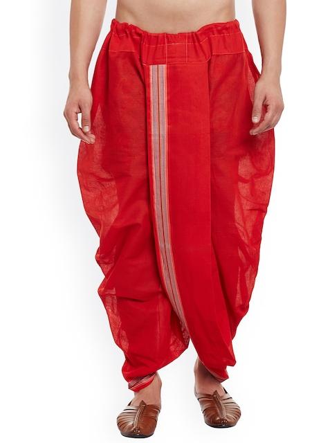 SOJANYA Red Dhoti Pants