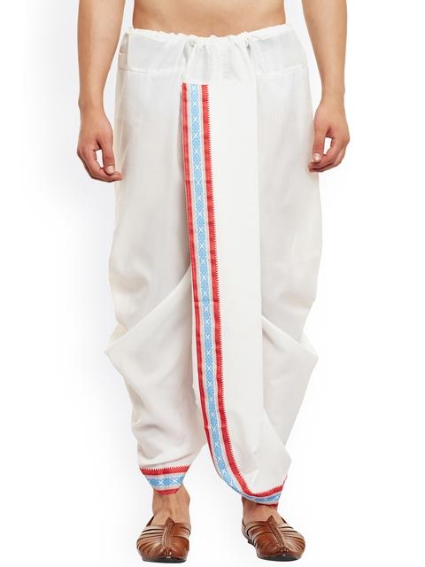 SOJANYA White Dhoti Pants