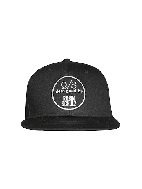 s.Oliver Men Black Baseball Cap